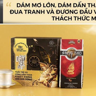 Thông điệp ý nghĩa ẩn sau những hộp cà phê năng lượng cho giới trẻ Việt